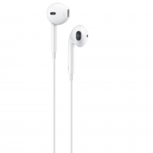 Casti Handsfree EDAR® cu microfon, control volum, mufa Type C , alb