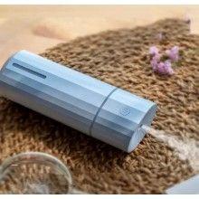 Umidificator SIKS® difuzor aroma, silentios, forma romb, pentru masina, birou, casa, ultrasonic, albastru