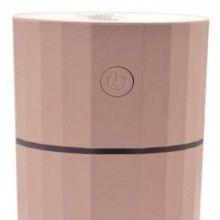 Umidificator SIKS® difuzor aroma, silentios, forma romb, pentru masina, birou, casa, ultrasonic, roz
