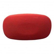 Boxa portabila EDAR® cu 2 difuzoare, microfon, bluetooth, TF slot, rosu