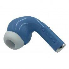 Boxa bluetooth EDAR® V5.0, portabila, in forma de casca, 1200mAh, albastru