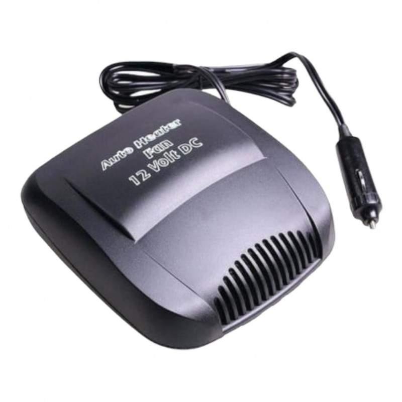 Aeroterma si ventilator auto EDAR®, 12 V, 150 W, functie dezaburire si dezghetare geam