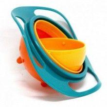 Bol SIKS® antirasturnare 360° pentru copii, multicolor, 17 cm