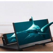 Amplificator imagine EDAR® cu efect 3D, simplu si usor de transportat, 12 inch, plastic, negru