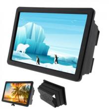 Lupa pentru telefon EDAR® cu efect 3D, amplificator imagine, negru