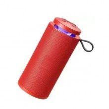 Boxa wireless EDAR® rezistenta la apa, Radio Fm, portabila, rosu, 10 w