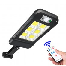 Lampa solara cu inductie, LED COB, 1.5W, telecomanda