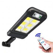 Lampa solara EDAR® cu inductie, LED COB, 1.5W, telecomanda