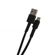 Cablu date EDAR® pentru telefon/tableta, 1000mm, lightning, incarcare rapida, negru