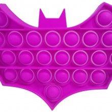 Jucarie antistres EDAR® senzoriala, din silicon, impermeabila, batman, mov