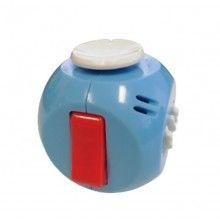 Cub antistres EDAR® pentru copii si adulti, jucarie interactiva cu diverse functii, 40x40 mm, multicolor