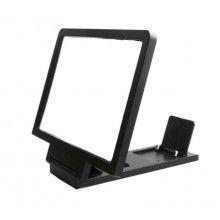 Amplificator imagine EDAR® pentru telefon, lupa pentru marirea imaginilor, plastic, negru