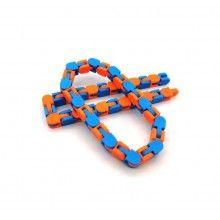 Jucarie EDAR® antistres tip lant, bratara snake, pentru copii si adulti