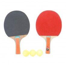 Set EDAR® tenis de masa, 2 palete, 3 mingi, ping pong