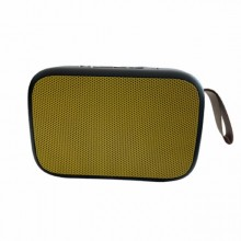 Boxa portabila EDAR® baterie reincarcabila, cablu USB, mini difuzor, galben