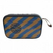 Mini boxa portabila Tablepro MG2, albastru/maro