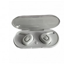 Casti wireless EDAR® TWS, fara fir, bluetooth 5.0, alb