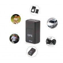 Mini localizator EDAR® GPS cu baterie reincarcabila, alerta locatie, inregistrare vocala, negru