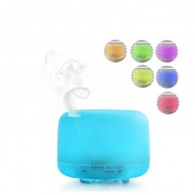 Umidificator cu telecomanda SIKS® aromaterapie, difuzor, purificator aer, 300 ml, alb