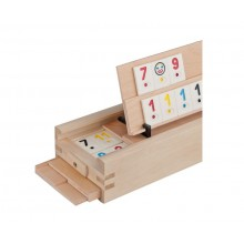 Joc remi de societate, tabla de lemn