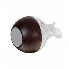 Difuzor aroma SIKS® ultrasnete, umidificator, purificator aer, rezervor 130 ml, alb/lemn inchis