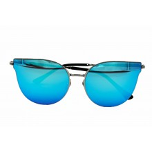 Ochelari de soare cu lentila albastra
