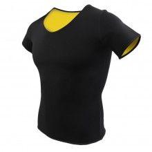Tricou SIKS® neopren pentru slabit, negru, masura M