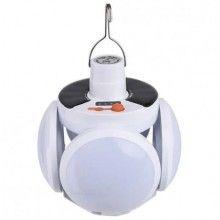 Lampa solara EDAR® cu acumulator 4 brate rabatabile 5 trepte de iluminat