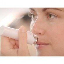 Epilator facial SIKS® Hipolergenic pentru dama cu led, baterie inclusa
