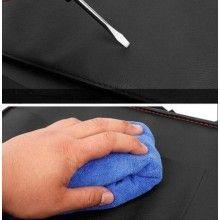 Organizator masina SIKS® multifunctionala din piele ecologica, cu tavita si buzunare, negru