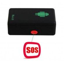 Dispozitiv SIKS® urmarire portabil, GPS, monitorizare in timp real, microfon, negru