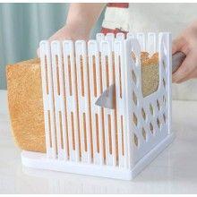 Feliator EDAR® manual pentru paine, plastic, feliere uniforma, alb