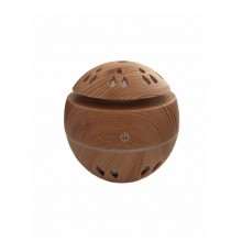 Difuzor aromaterapie SIKS® umidificator, purificator aer, 130 ml, lemn deschis