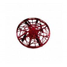 Mini drona SIKS® OZN, incarcare USB, senzori infrarosu, ABS, rosu