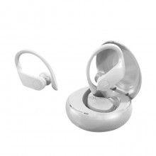 Casti bluetooth SIKS® model A15, fara fir, tehnologie inteligenta, iOS/Android, alb