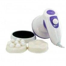 Aparat masaj SIKS® portabil, pentru calmarea si relaxarea muschilor, alb/mov