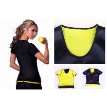 Tricou SIKS® neopren pentru slabit, negru, masura XL