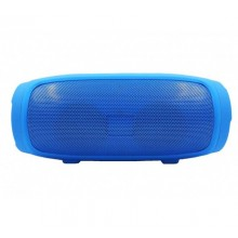 Boxa portabila SIKS®, model Charge 2, fara fir, functie Bluetooth, Radio, albastra