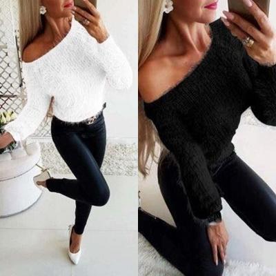 pulover dama pufos